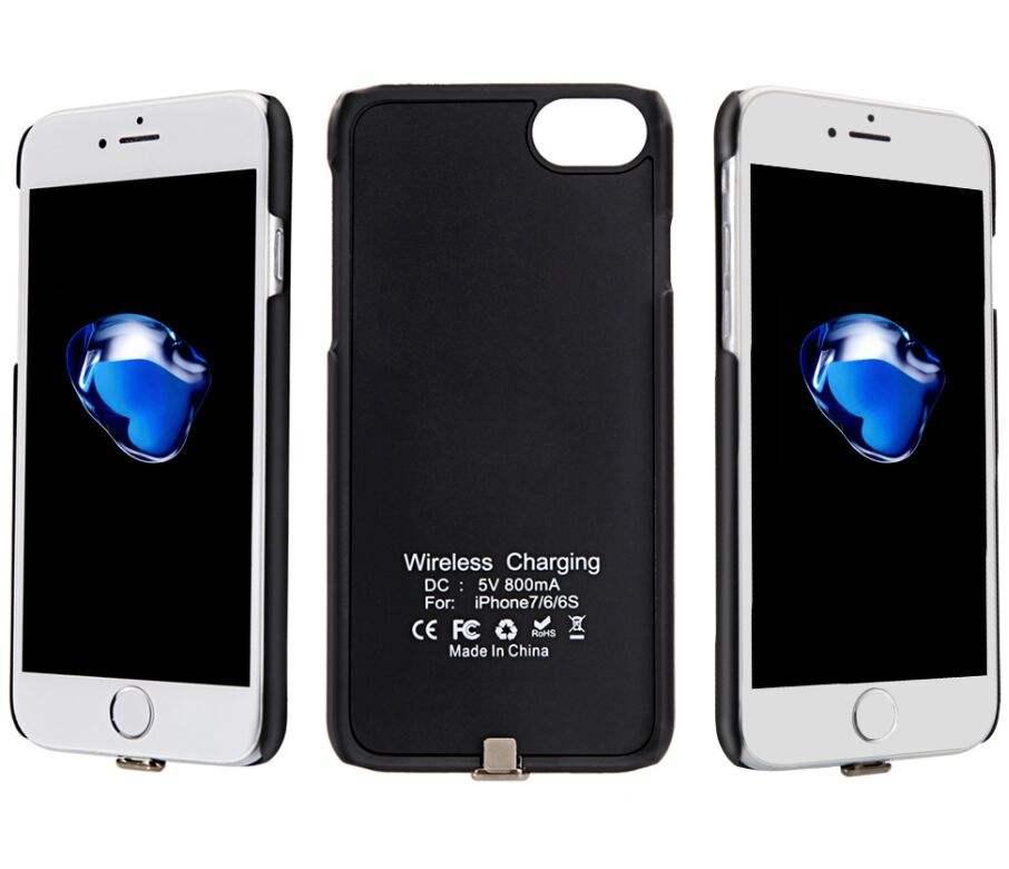 Slim Portable Sạc Trường Hợp đối với iPhone 7 <span class=keywords><strong>Pin</strong></span> Sạc <span class=keywords><strong>Pin</strong></span> Hợp Gói