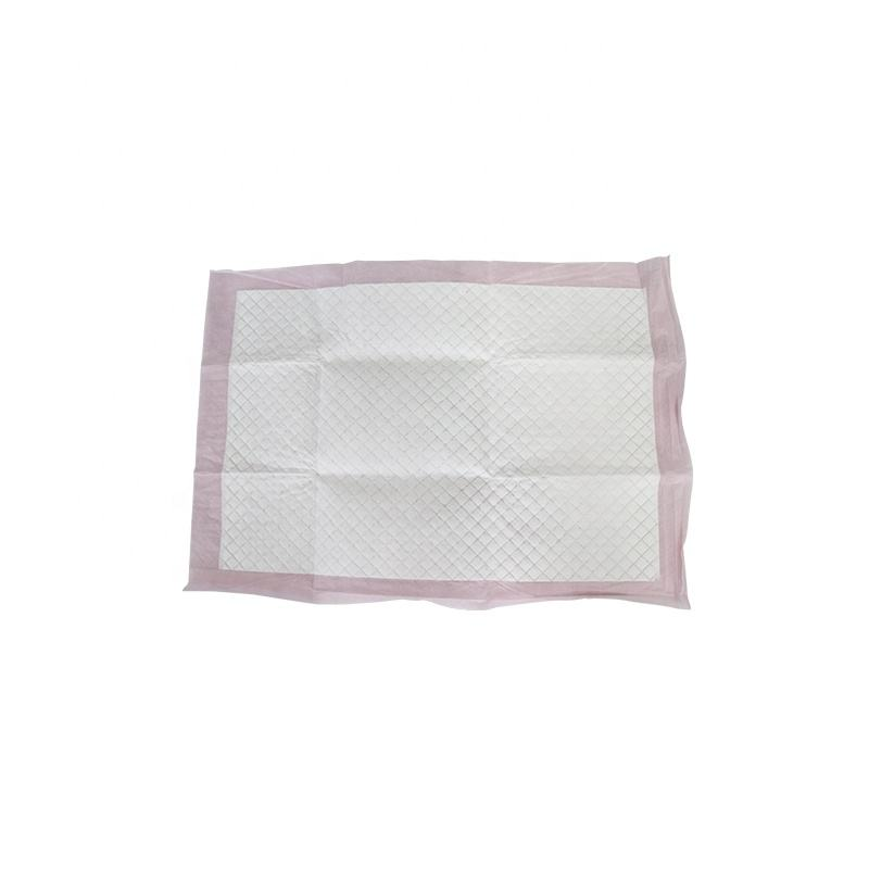 Adulte médical jetable underpad d'urine coussin absorbant