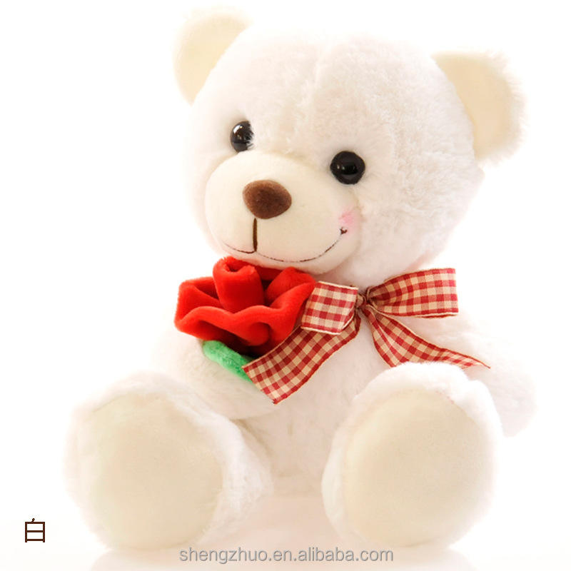 Plush valentine teddy bear toy stuffed teddy bear for valentine gifts