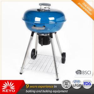 الأزرق لون أباريق شواء الفحم شواء مشاوي outdoor أبل شكل الشواية