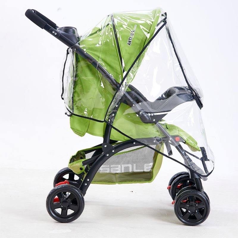 Waterproof Umbrella for Stroller Wind Dust Shield Cover Universal Baby Stroller Rain Cover