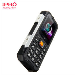 Three-proof rugged mobile phone with GPS tracker