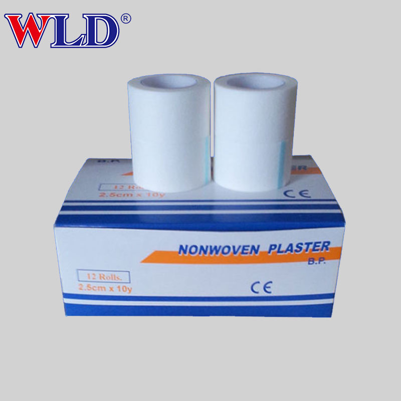 OEM design hospital medical non woven surgical tape /microporous paper tape