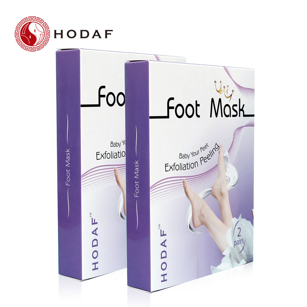 Baby your feet ! Lavender Exfoliating peeling nourishing magic foot mask