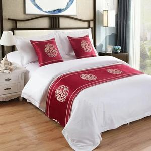 Wholesale 100% cotton bed sheets bedding sets custom printed hotel duvet cover