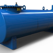 Single wall or double wall different sizes fuel oil storage tank