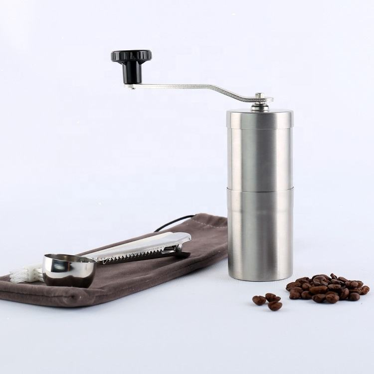 Commercial kitchen accessories 60ml manual coffee burr grinder