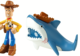 Toy Story 20th Anniversary Woody and Shark Figure Buddy 2-Pack