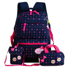 star printing children backpacks For Teenagers girls Lightweight waterproof school bags child orthopedics schoolbags