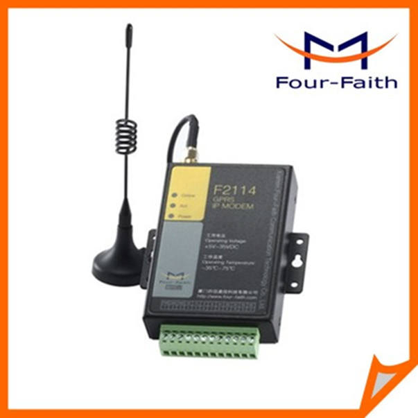 F2114 m2m electronic irrigation gprs modem rtu Modbus modem for water pomp