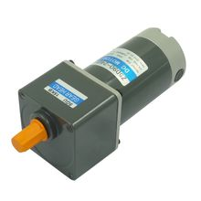 High Torque Geared DC Electric Motor 12 V with Reduction Gearbox
