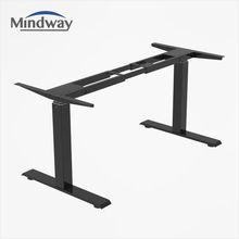 two leg dual motors electric ergotron standing desk with 5 years top quality warranty