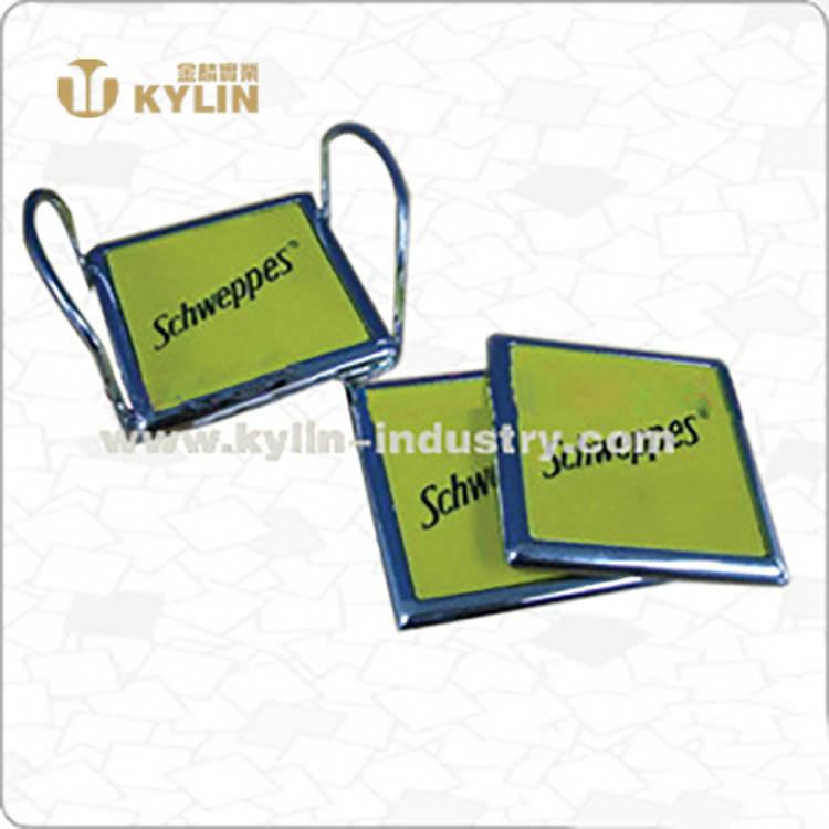 Promoção do produto chinês <span class=keywords><strong>coaster</strong></span> quadrados de <span class=keywords><strong>metal</strong></span>