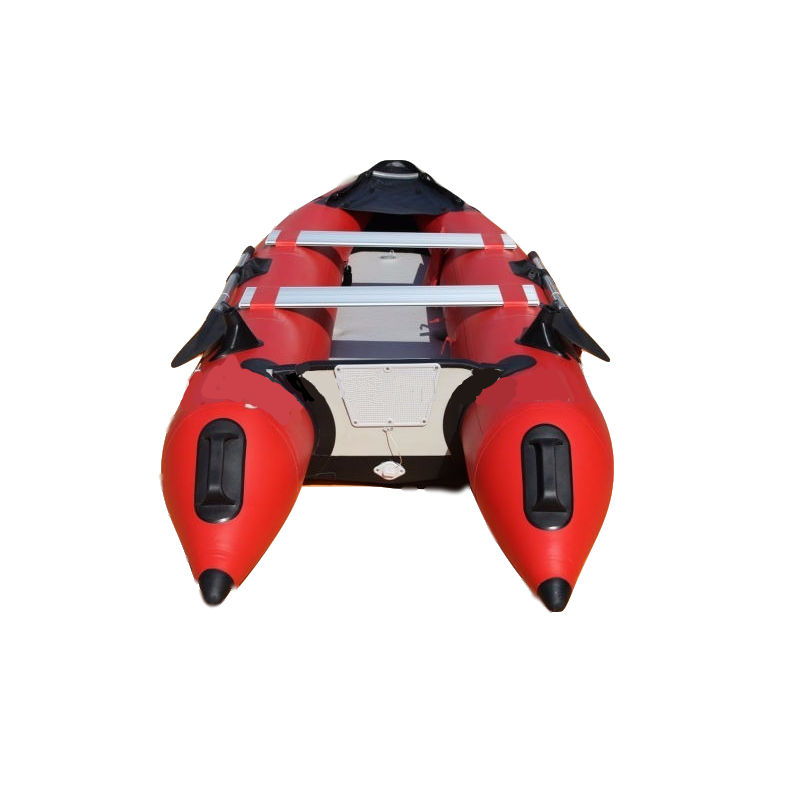 CE Certificated PVC Hull Material Cheap Fishing Inflatable Folding Kayak