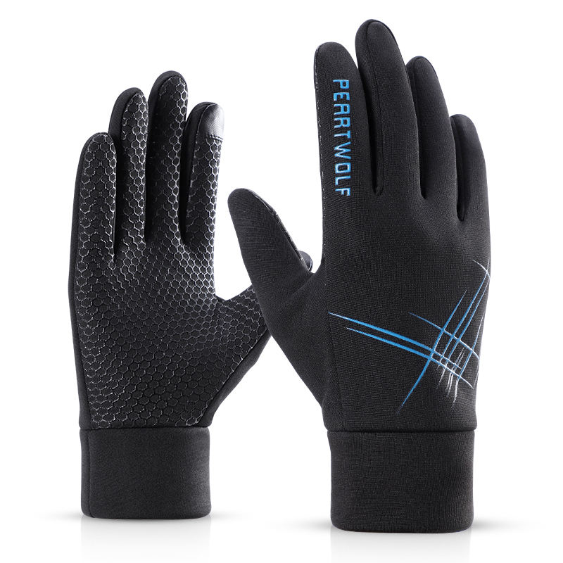 New design spring bike riding hand sports winter touch screen gloves for men