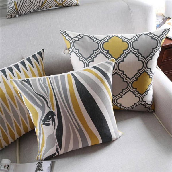 Wholesale latest design cushion cover decorative pillow custom 3d digital printing pillow case/cushion cover