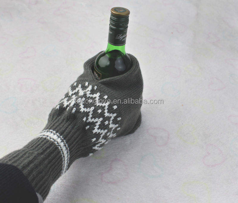 Customized beer gloves