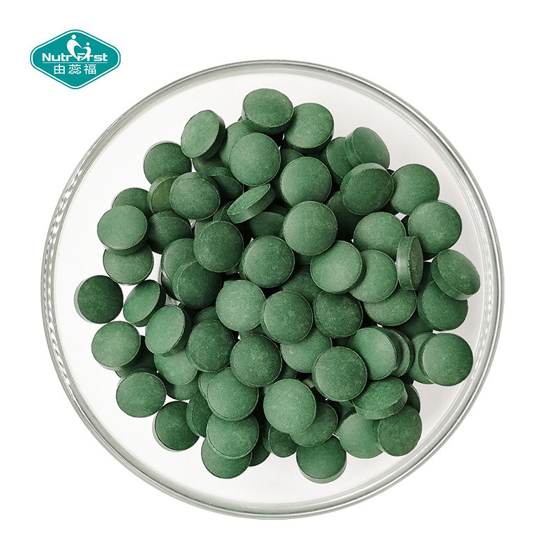 Toptan Spirulina Tablet 500 mg Spirulina Tablet