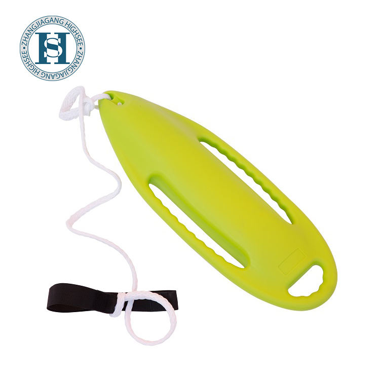 Green HDPE Plastic Life Buoy For Emergency Rescue