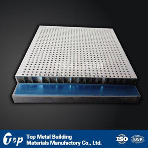 Metal Outdoor Decor Aluminum Honeycomb Sandwich Panel