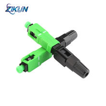 FTTH SC/APC fast connector quick embedded optal fiber optical fast connector for Fiber optic connection