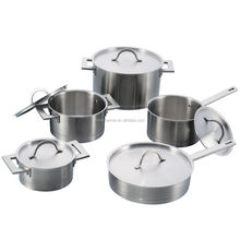 10Pcs High quality cooking pots and pans sets