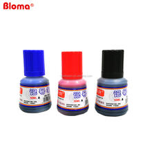 Factory selling cheap cost 50 ml permanent marker pen bottle refill ink suitable for refillable markers