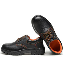 Fashion safety shoes for workers light weight safety working shoes