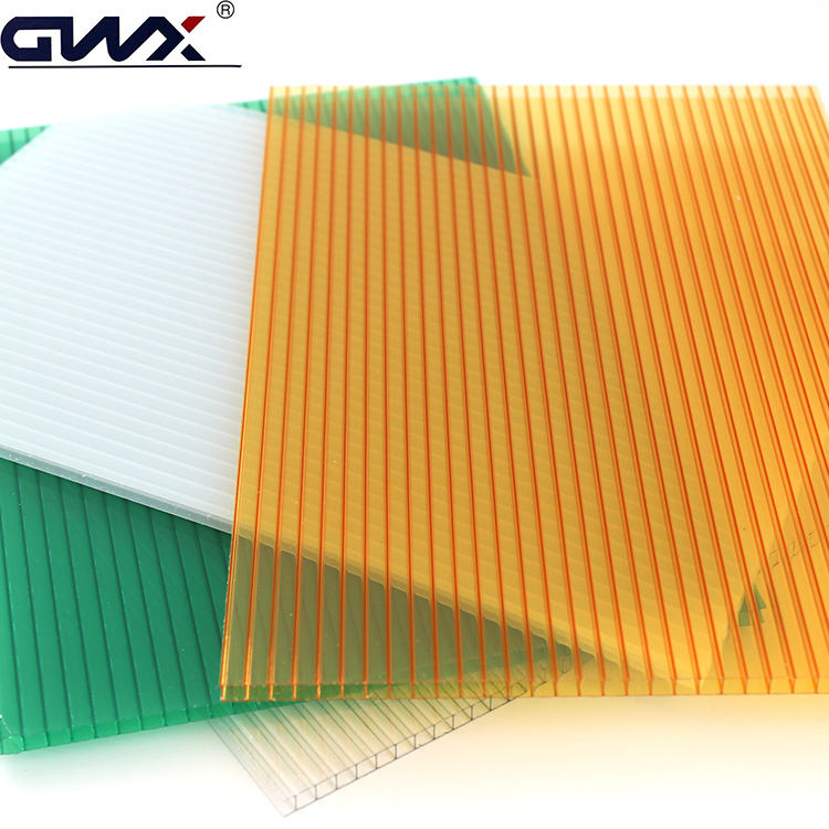 Polycarbonate Sheet Construction Material for Greenhouse Roofing, Swimming Pool and Shopping Malls