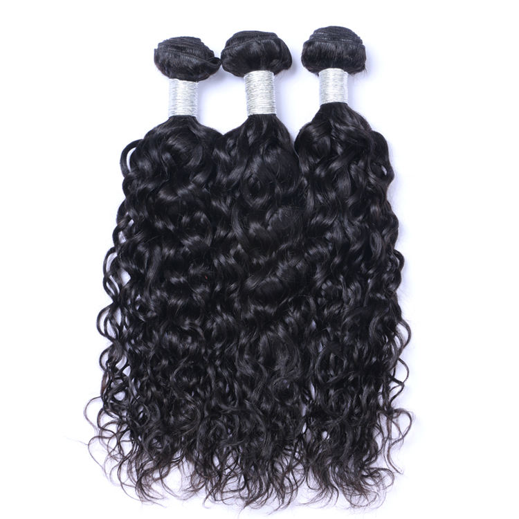 Fast delivery 100% natural wave indian remy 9a human hair weave