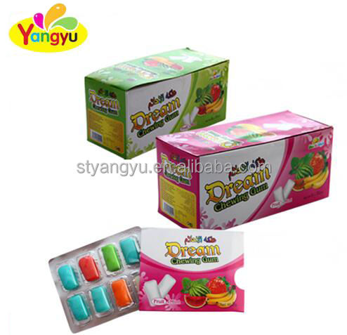 halal Dream chewing gum with fruit flavor and cheap price