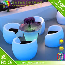 Nelight, LED flash light table ! new plastic waterproof led bar table furniture use for restaurant/ bar / party or exhibition.