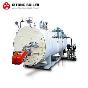Textile Mill / Food Industry / Garment Factory Used Fire Tube Automatic 1- 20 ton Industrial Oil Gas Fired Steam Boiler Pricegas firedlow pressureCustoms Data