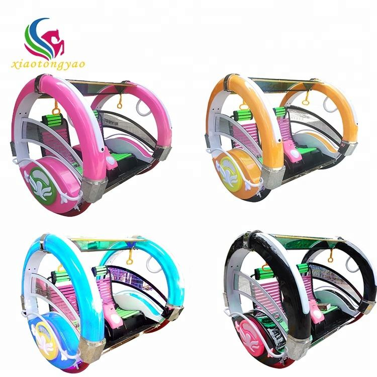 Guangzhou Factory Leswing Car Entertainment Amusement Park Rides Happy swing car Beach Car