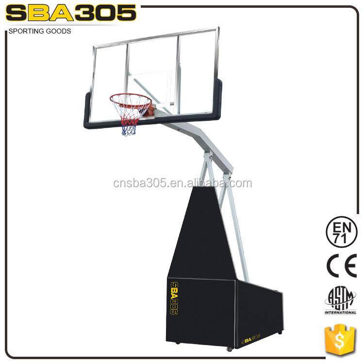 elektrischen beweglichen <span class=keywords><strong>basketball</strong></span> stehen im freien