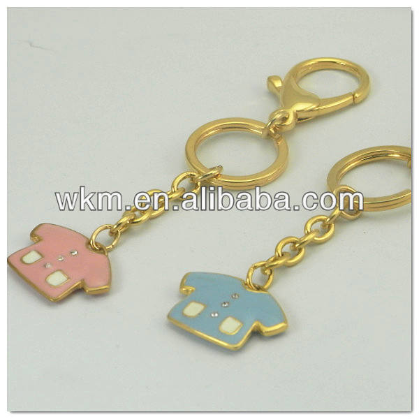 Fashion Metal Alloy paris souvenir keychains