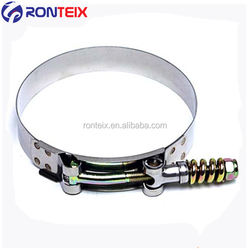 Stainless Steel T-Bolt Hose Clamp for Silicone Hose