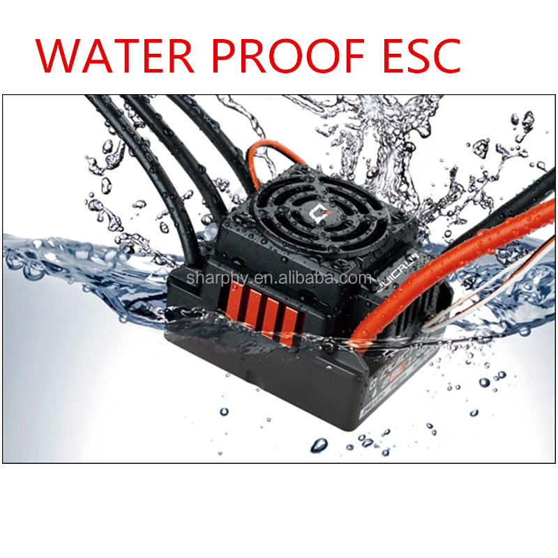 Best Quality Hobbywing Quicrun Water Proof 150Arc Car Brushless ESC For RC Monster Truck