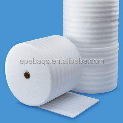 "UPS Polyethylene Perforated 1/8"" x 12"" x25'-150' Epe Foam Packaging Wrap Roll"