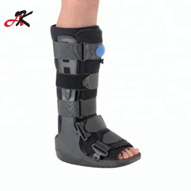 Ankle Sprain Fracture Injury Walking Boots ROM Walker Brace with air cushion