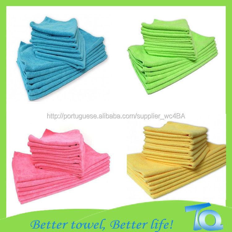 De alta qualidade microfibra toalha para limpeza do carro