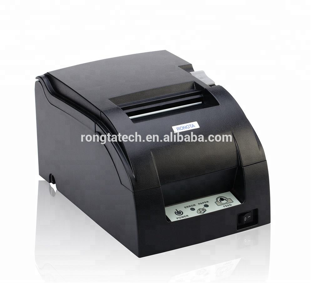 76mm 9Pin Dot Matrix Impact Invoice Bill Receipt Printer RP76 using ERC39 Ribbon compatible with EPSON
