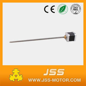 NEMA17 dc linear motor dc 12v threaded rod stepper motor