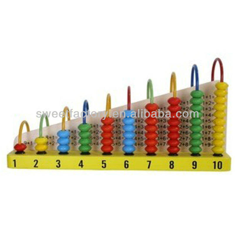 Wood Abacus Wooden Abacus Educational Math Toy