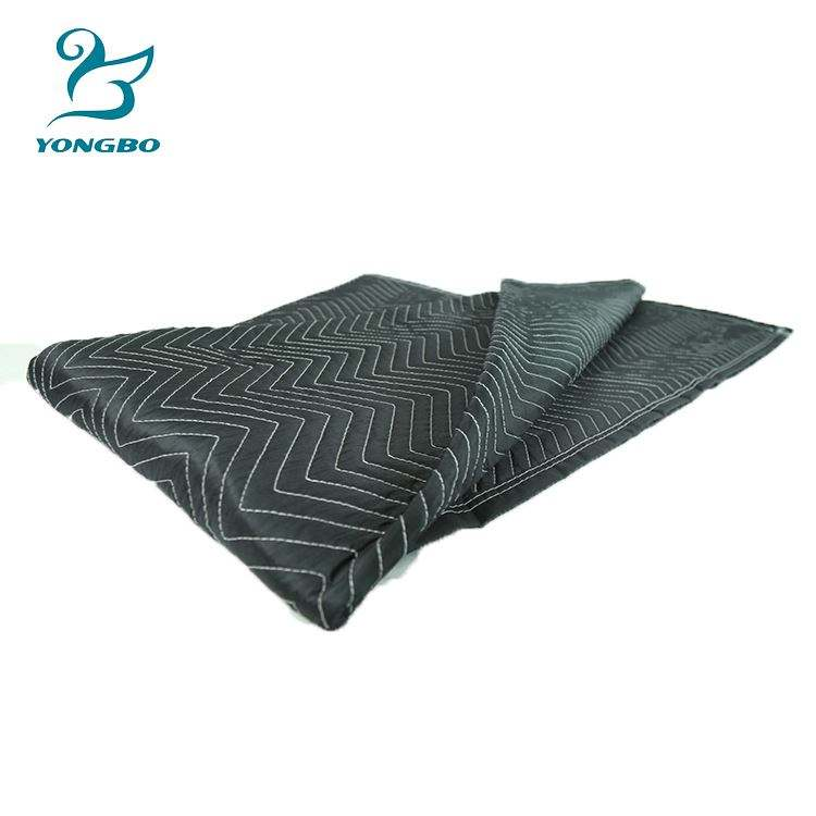 High Quality Custom Portable Picnic Textile Moving Blankets ,Office Furniture Moving Pad