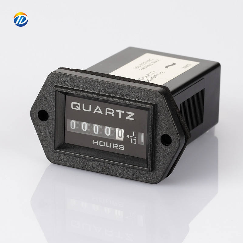 SYS quartz 5 Digital generator Engine hour meter mechanical hour meter 12v dc 24v volt ac 220v digital Industrial timers counter