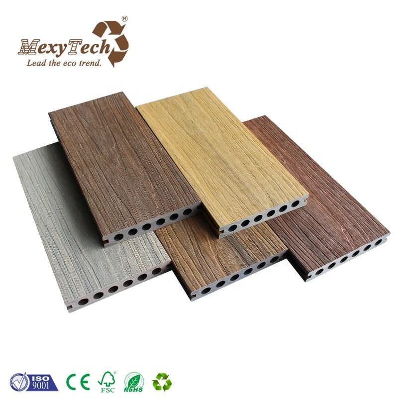 Outdoor terrasse wpc cover floor coextrusion deck pool plank
