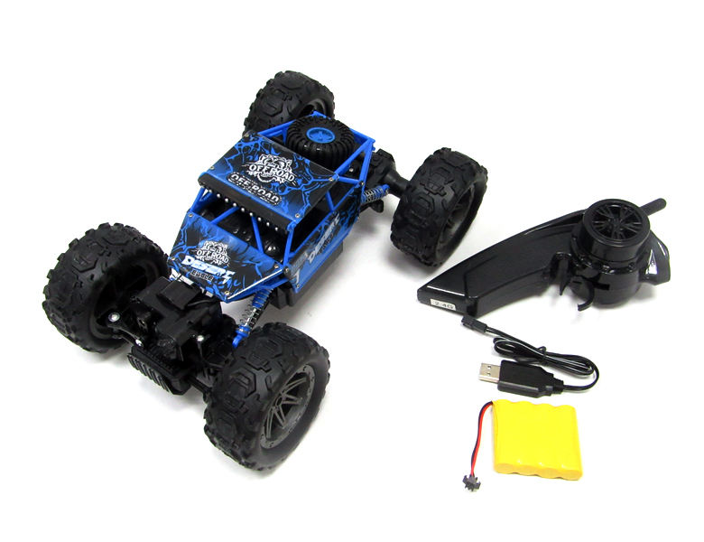 2.4G radio control climbing toys off-road vehicle remote control monster truck rc toy car with charge