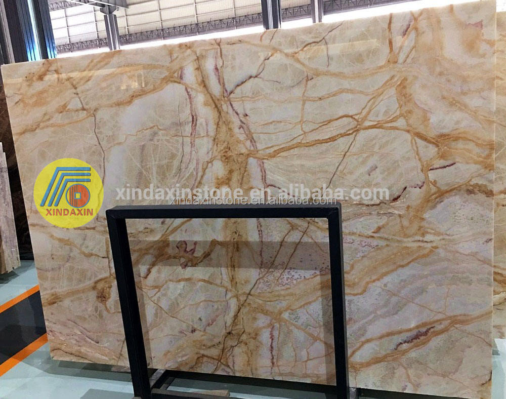 Chinese stone polished Spider onyx cheap marble price China supplier