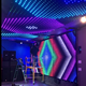 Video curtain indoor stage backdrops flexible led wall screen for nightclub
